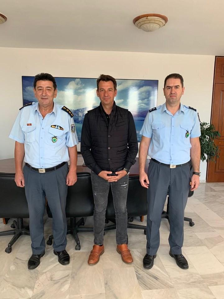 Δήμος Ζηρού:Συνάντηση Δημάρχου με τον Αστυνομικό Διευθυντή Ν. Πρέβεζας...