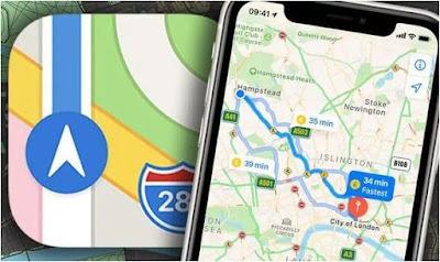 تحديث, تطبيق, خرائط, آبل, على, الآيفون, وجميع, أجهزة, iOS