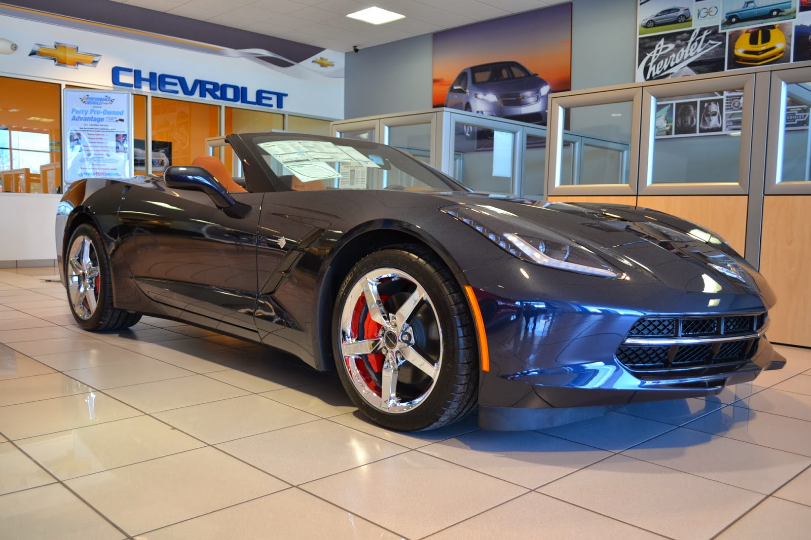 perry auto group 2014 chevrolet corvette stingray for sale near raleigh nc. Black Bedroom Furniture Sets. Home Design Ideas