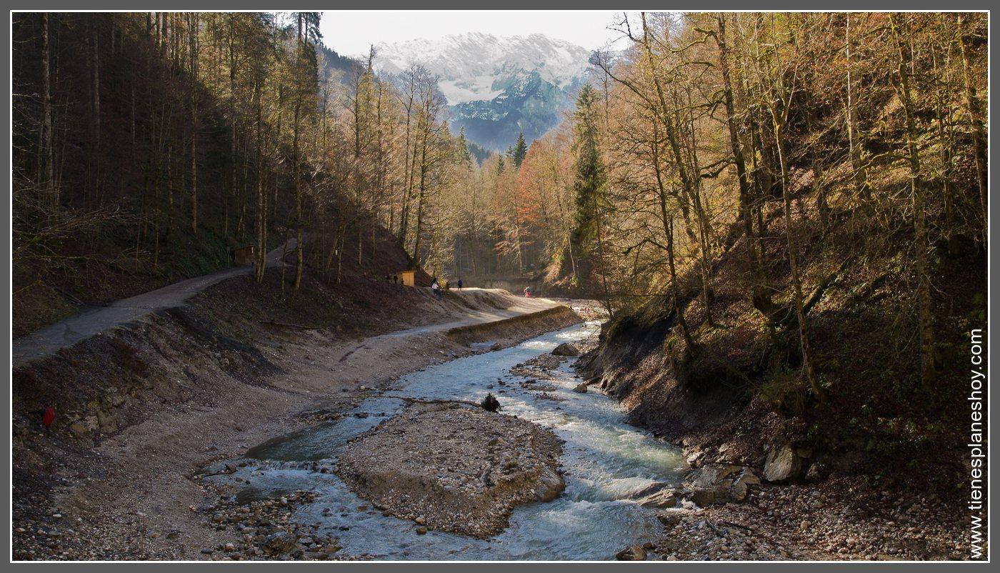 3 días en Baviera (Alemania). Día 3: Partnachklamm ...