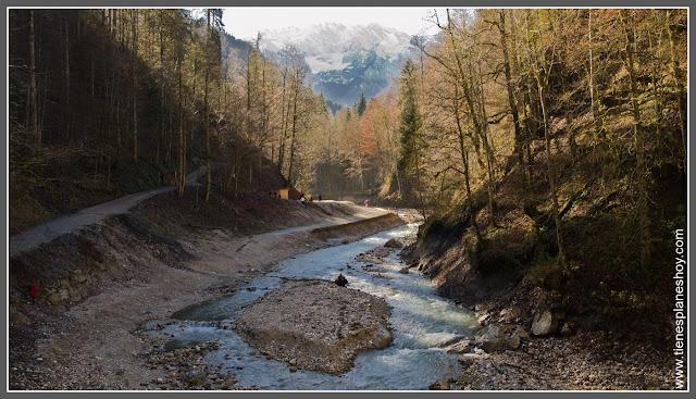 Partnachklamm Baviera (Alemania)