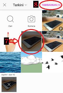 cara ganti gambar suatu foto di picsar