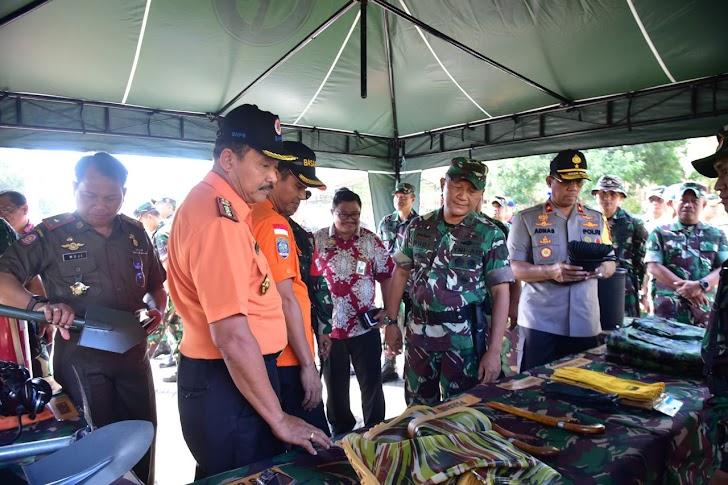 Kodam XIV/Hsn, Gelar Apel Kesiapsiagaan Pasukan Reaksi Cepat Penanggulangan Bencana
