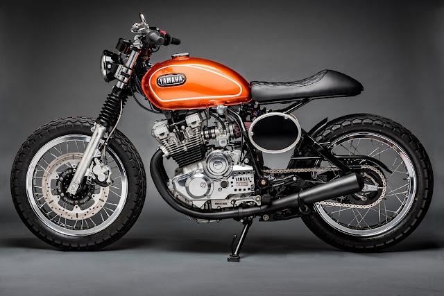 Yamaha XS400 By Hageman Motorcycles Hell Kustom