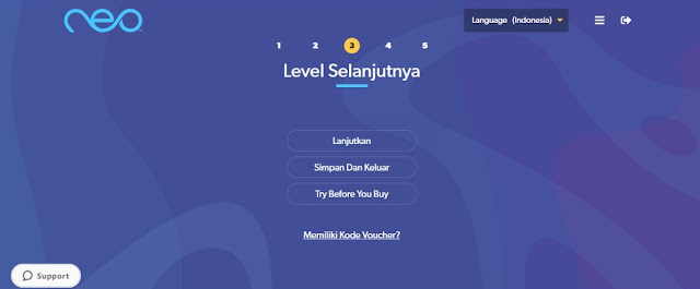 fitur baru aplikasi Neo