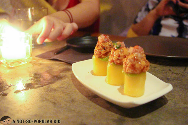 Salmon Causa Appetizer of Nikkei