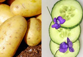 خلطات طبيعية من الخيار والبطاطا لتنقية البشرة