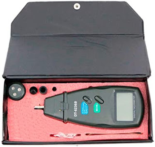 Alat Putaran RPM - Tachometer Digital DT6236b - Contact & Non Contact