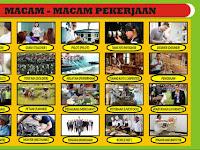Download Desain Alat Peraga PAUD Tema Pekerjaan Format CDR