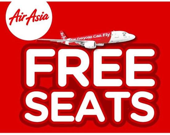 8 Perkara Perlu Tahu Mengenai Promosi Free Seat Air Asia