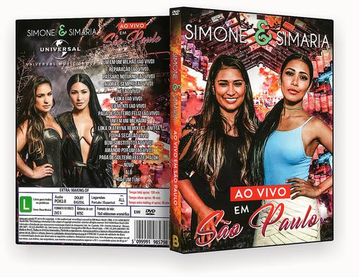 CAPA DVD – Simone & Simaria Ao Vivo Em São Paulo – ISO