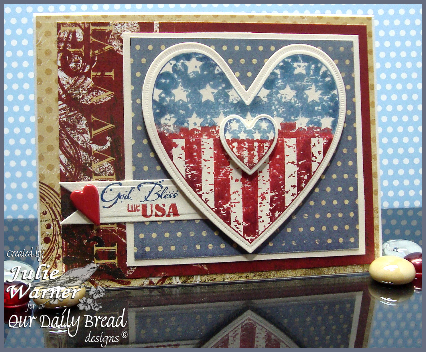 Stamps - Our Daily Bread Designs Heart and Soul, ODBD Custom Ornate Hearts Die