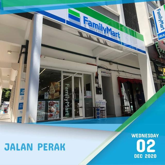 FamilyMart Penang Pulau Pinang Jalan Perak
