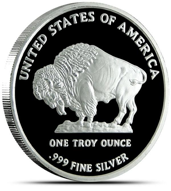 Ounces Of Silver 2013 Silver Buffalo Bullion One Troy