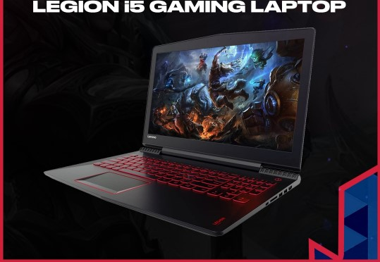 Sorteio de um Notebook gamer Lenovo Legion