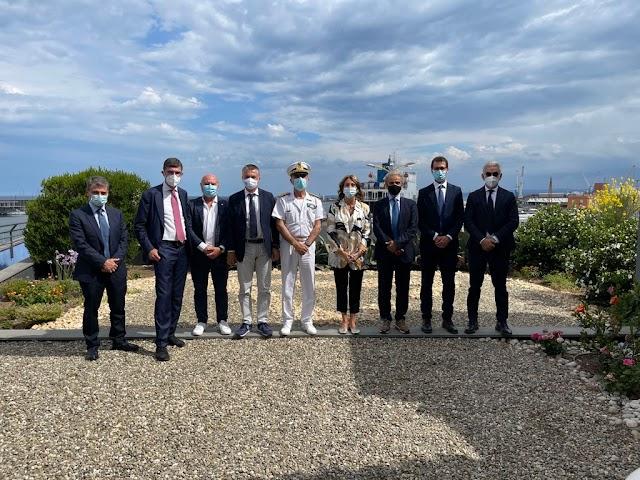 La IX Commissione in visita ai Porti di Augusta e Catania
