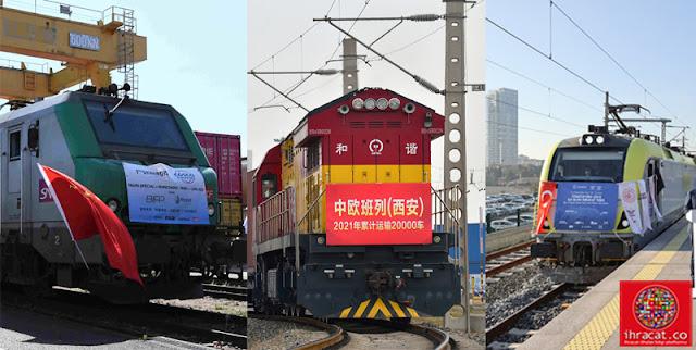 çin avrupa tren taşımacılığı
