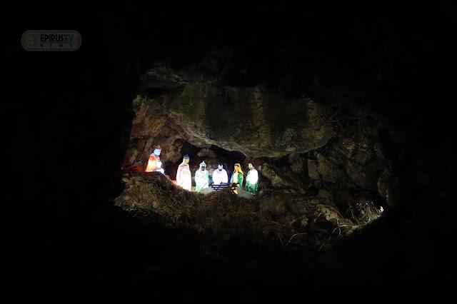 Γιάννενα: Σε Σπηλιά...Η Εντυπωσιακότερη Φάτνη Των Ιωαννίνων! [Φωτο]