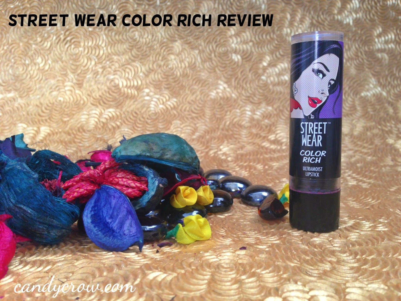 Street Wear Color Rich Lipstick - P.S I am sexy Review