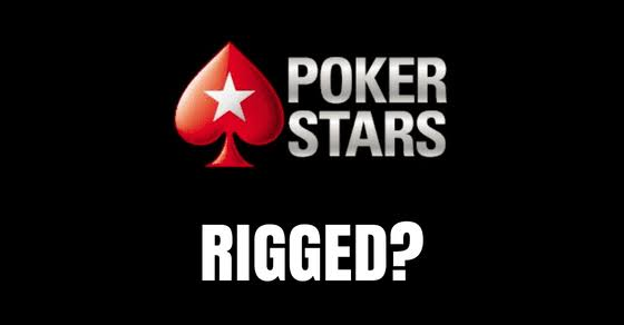 Pokerstars rigged cheating