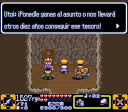 ganbare goemon 3 spanish