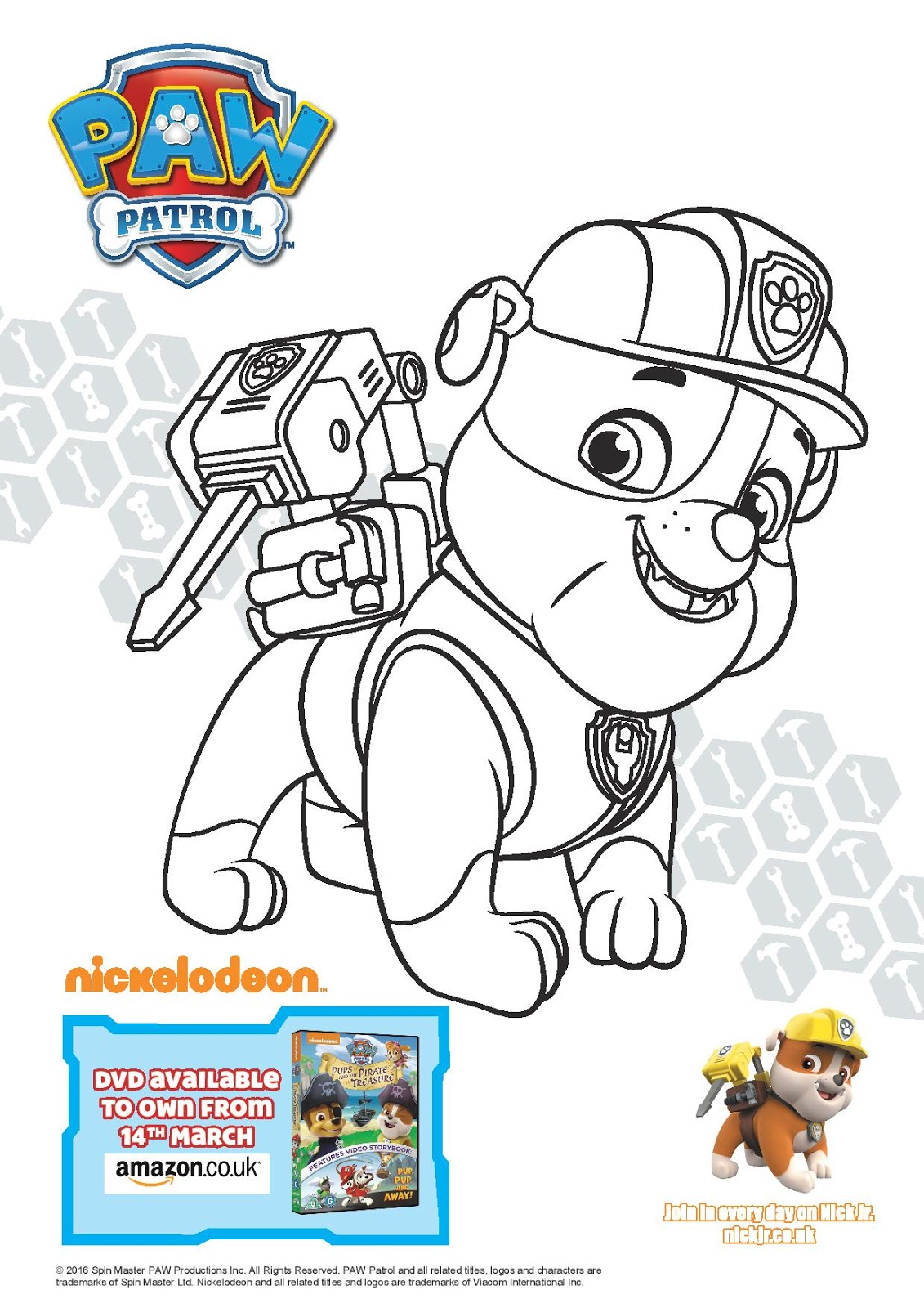 Paw Patrol Pups And The Pirate Treasure Play And Learn