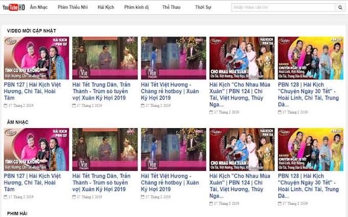 Theme Youtube API Video Blogspot V2 - Giao diện chia sẻ Video Giống Youtube 2019