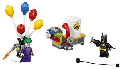 JUGUETES - LEGO Batman La Película  70900 La huída de joker en globo | 2017  Juego de Construcción | Piezas: 124 | Edad:  Comprar en Amazon España