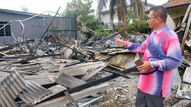 PAS Gong Kemunting Rugi RM20 Ribu, Markas Hangus Dijilat Api