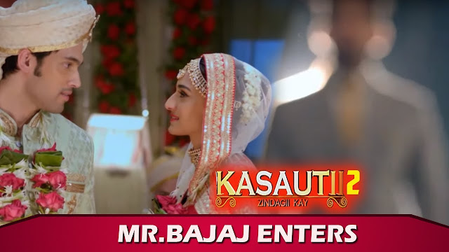New Promo! Mr Bajaj's surprising entry in Anurag Prerna's wedding in Kasautii Zindagii Kay