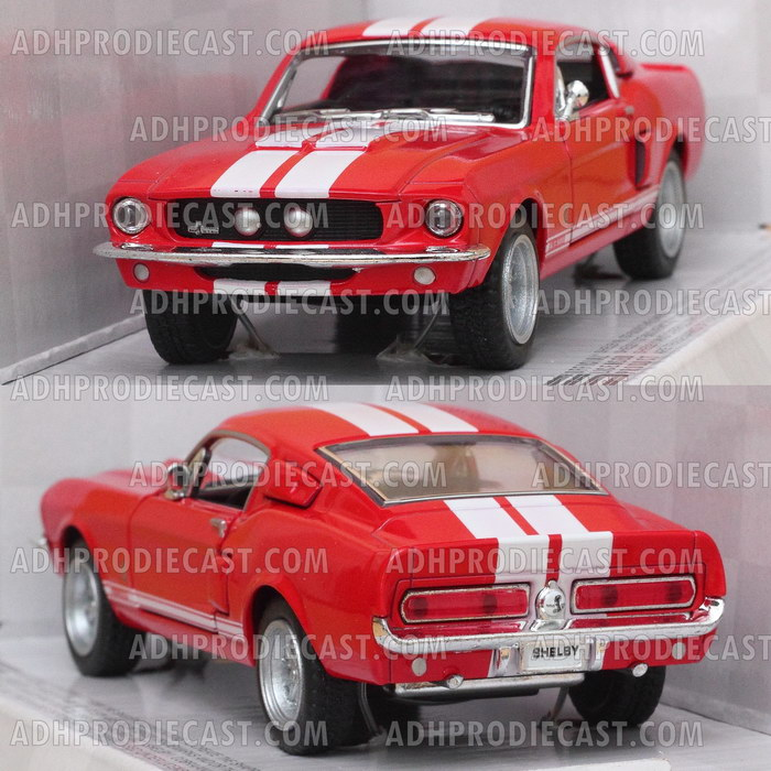 Miniatur Shelby GT-500 1967 (Red-32K)