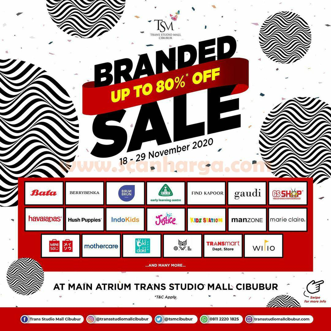 Trans Studio Mall Cibubur Present: Promo Branded Sale Bazaar Disc up to 80% Off 1