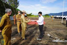 Kaiman Turnip Serahkan SK CPNS Formasi 2019 Pakpak Bharat ke 166 Orang
