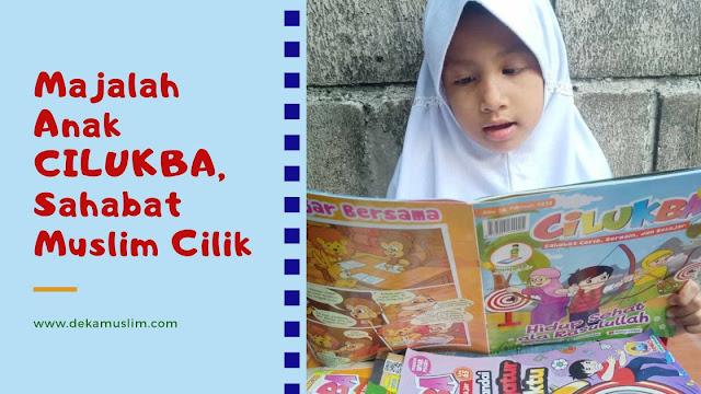 majalah anak muslim cilukba
