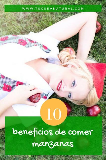 10 beneficios de comer manzanas