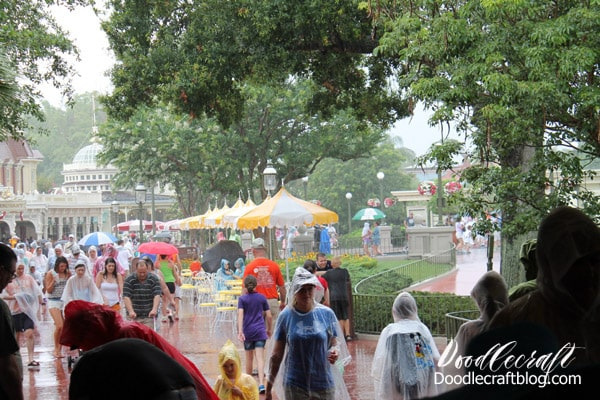 10 Tips for Disney World Florida Vacation: rains every day and what to do about it