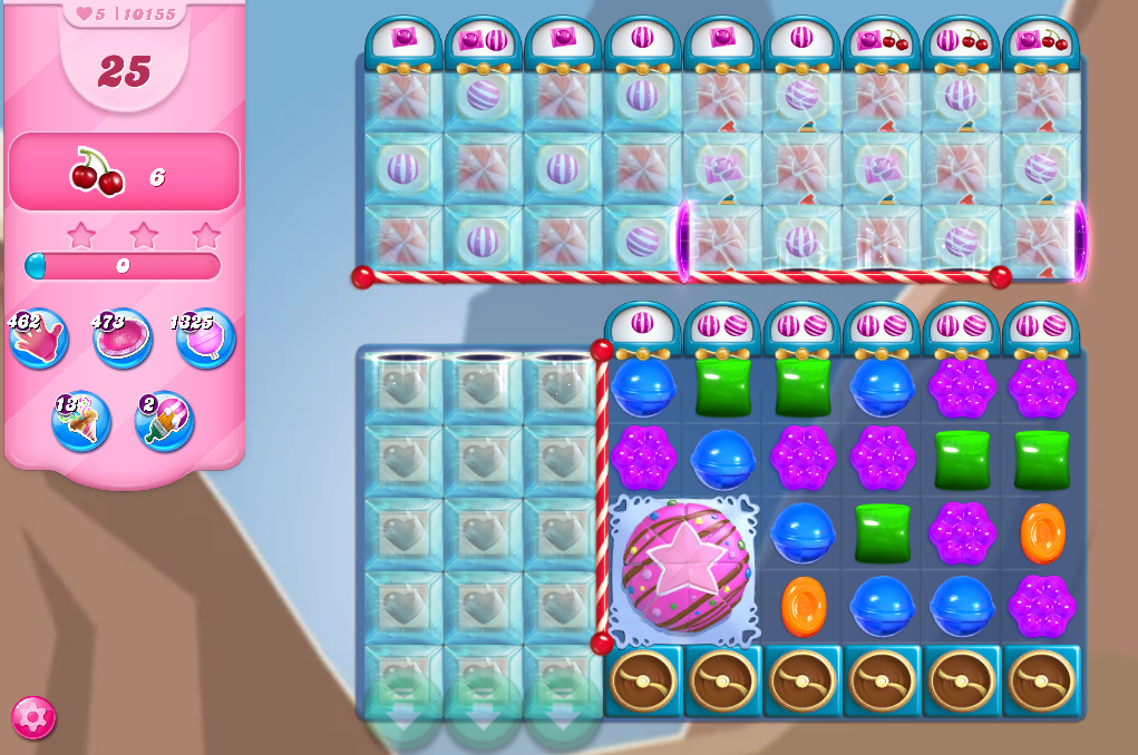 Candy Crush Saga level 10155