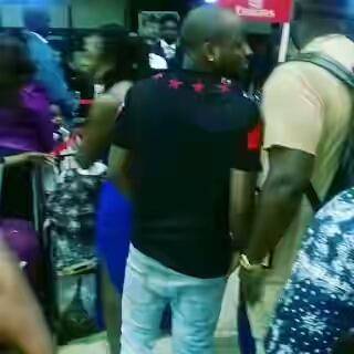 Dele Momodu To Davido, Releases Photos Consoled Davido at Airport after his Drama with Babymama Sophie