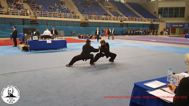 Διεθνές πρωτάθλημα Wushu Ακρόπολης συμμετείχαν  οι σχολές Choy Lee Fut Ναυπλίου και Άργους