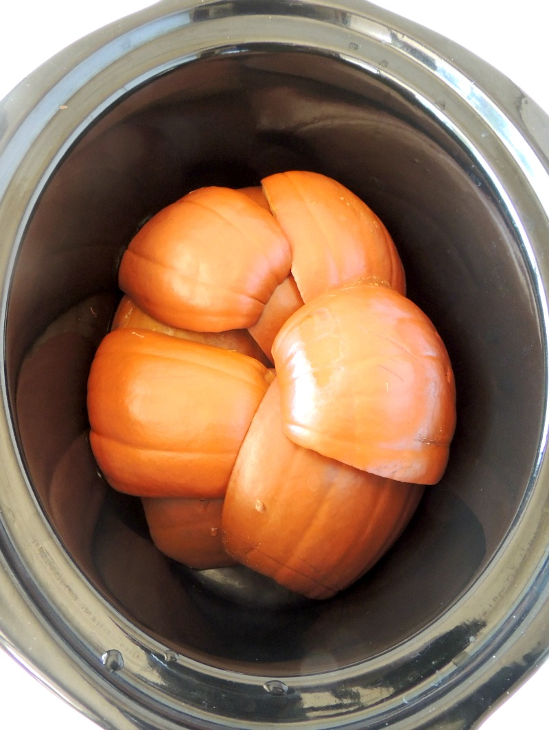 This pumpkin puree recipe shows that you don't have to buy store bought canned pumpkin ever again. It is so easy to use your slow cooker, or Instant Pot so can enjoy the great taste of homemade with zero additives or preservatives. #instantpot #slowcooker #pumpkin #homemade #healthy #easy #recipe | bobbiskozykitchen.com
