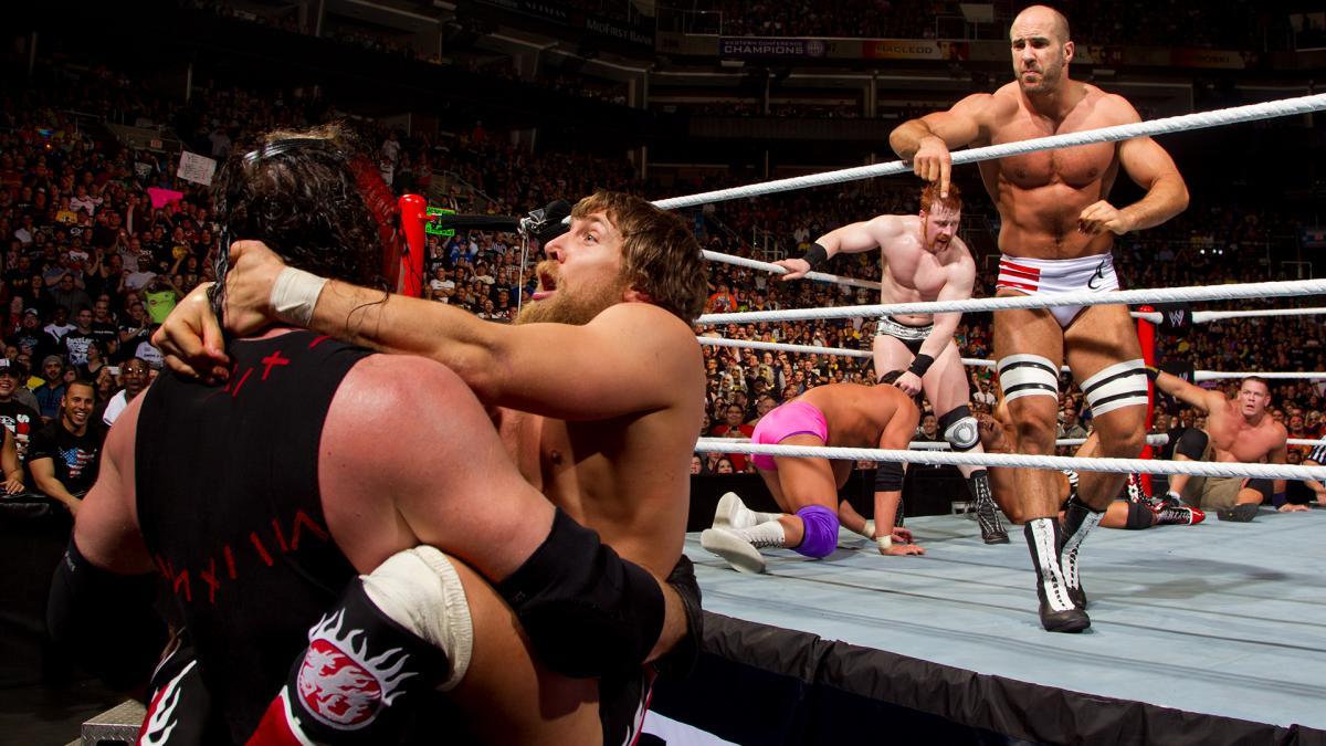 WWE Royal Rumble match