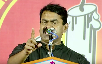 This Election Is a Battle Between The Tamils And Telgus – Naam Tamilar Seeman On Tamil Nadu Election