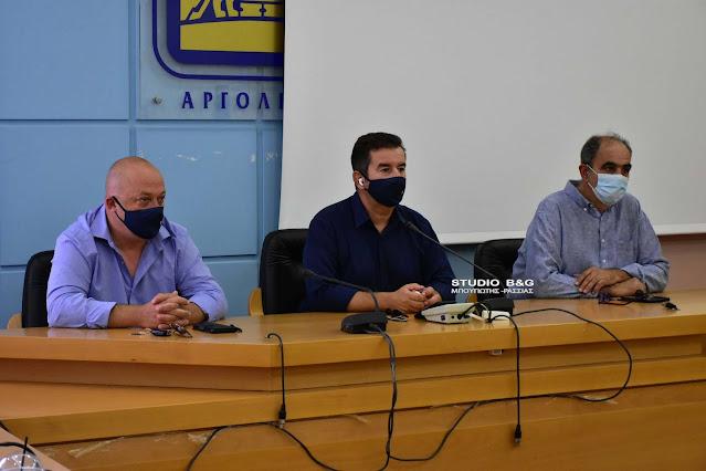 Έκτακτη συνεδρίαση του Συντονιστικού Οργάνου Πολιτικής Προστασίας στην Αργολίδα για την κακοκαιρία