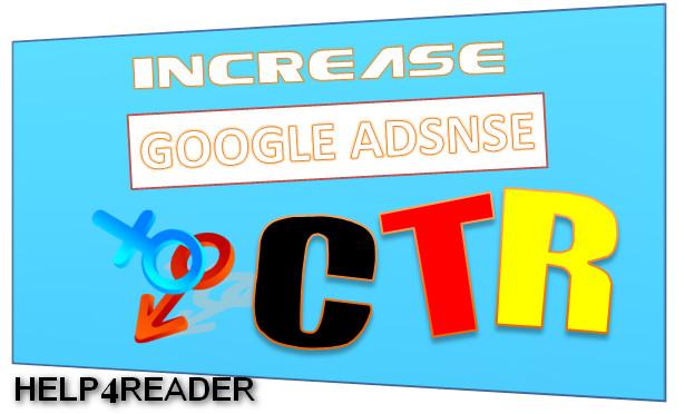 Google adsense CTR kya hai aur usy increase kaise kare