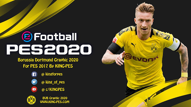 PES 2020 Borussia Dortmund Graphic For PES 2017 By KING-PES