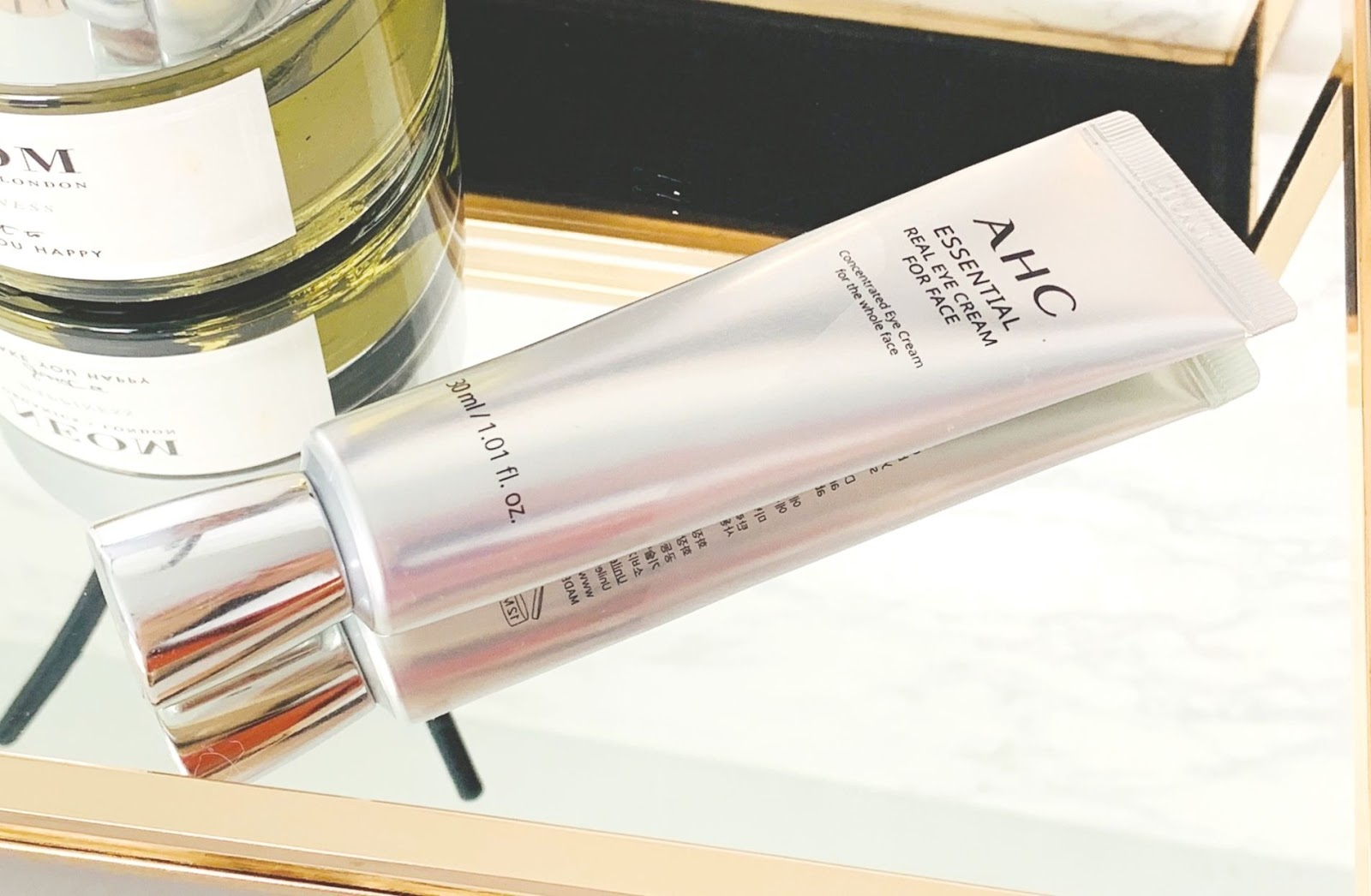 AHC Hydrating Essential Real Eye Cream Review - love at first use!