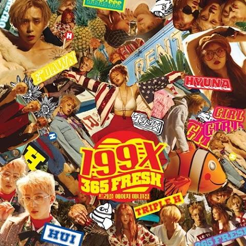 """✰PHOTO✰ Triple H wydali okładkę do ich albumu """"199X"""""""