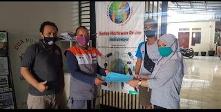 Mitra IWO Indramayu Berqurban 3 Ekor Kambing Melalui Program Rumah Zakat