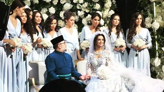 Mualaf, Oksana Voevodina Dinikahi Raja Malaysia