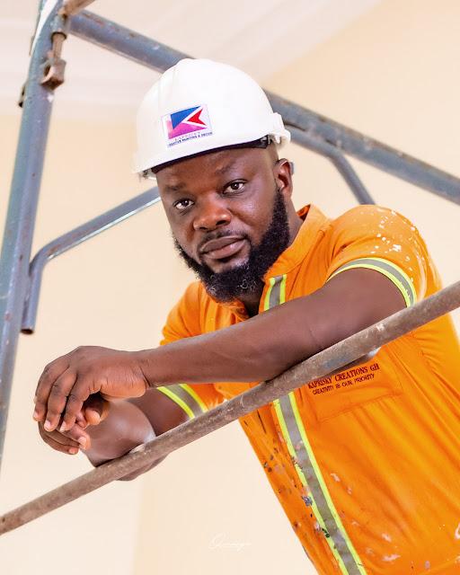 Ghanaian Celebrity Painter: Bright Hodzor shares Inspiring Career story as a Painter